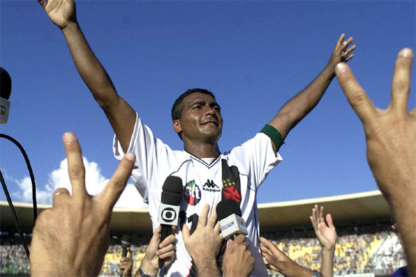 Romário marcou 36 gols em jogos da Copa do Brasil
