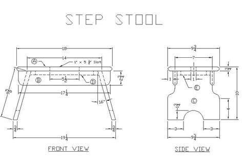 woodwork  step stool wood plans  plans