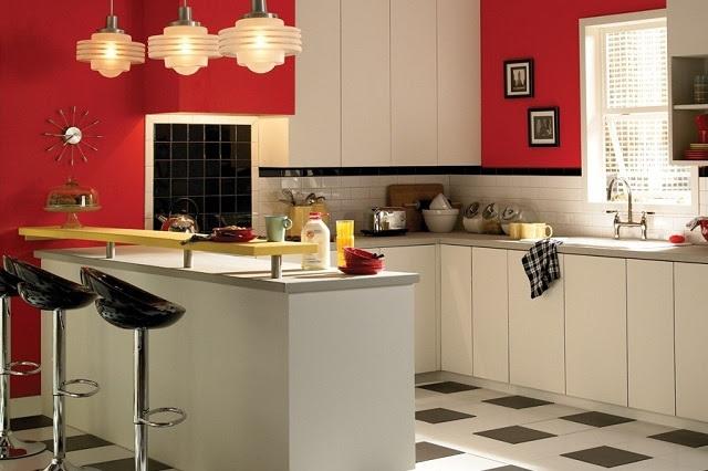 Die Küchenwand streichen - Farbideen in fröhlichen Nuancen