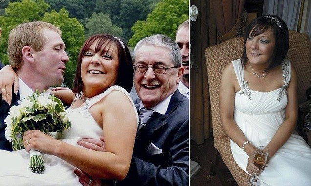 Kelly Tarpey, 36, was found dead in bed by her husband John just seven weeks after her father John Thompson, 65, died of a heart attack. An inquest in Manchester was unable to establish how she died