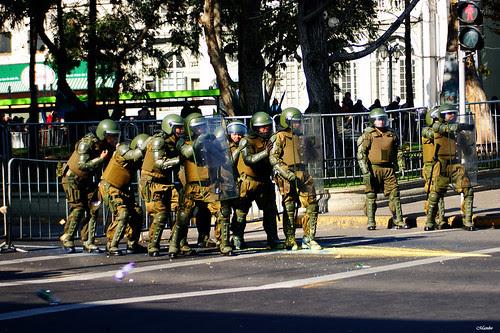 Marcha educación pública. by Manuel Venegas