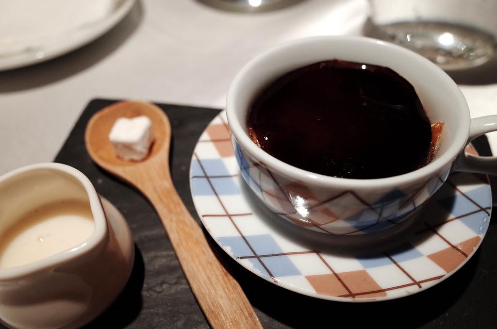 I DN版本濃縮咖啡 其實是咖啡凍蛋糕