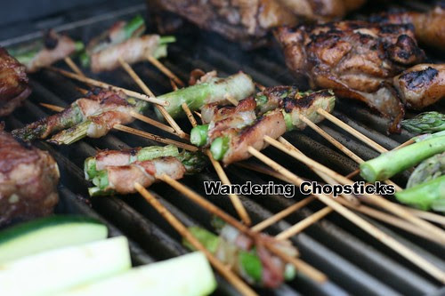Grilled Asparagus Bacon Skewers 1