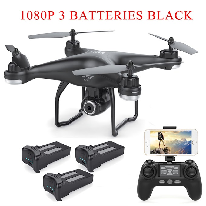 S-SERIES S20W Double GPS Dynamic Follow WIFI FPV With 1080P / 720P Wide Angle Camera Multi Batteries RC Drone Quadcopter VS X21