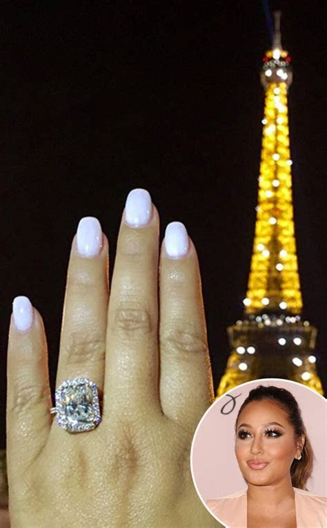 Adrienne Bailon's Engagement Ring: Details on The Real