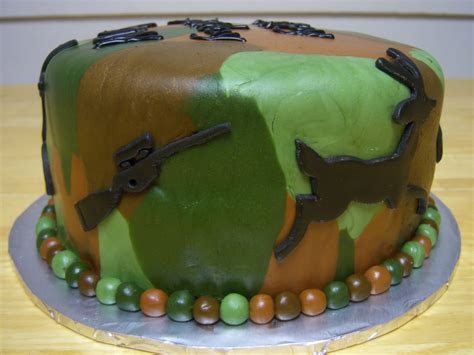 Creative Cakes By Angela: Camouflage Hunting Cake