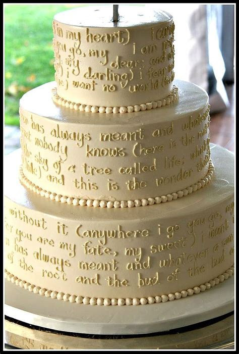 The Sweetest Sweets: Bookish Wedding Cakes