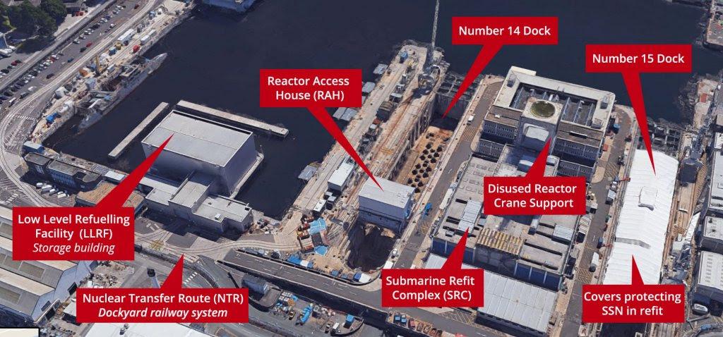 Devonport nuclear facilities