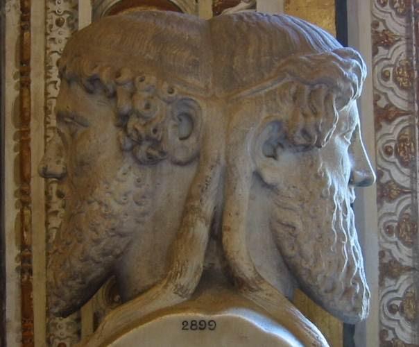Jano. Busto en los Museos Vaticanos (El Vaticano).