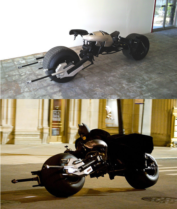 Custom Batpod Replica, Yours For $100,000