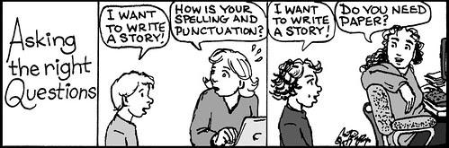 Home Spun comic strip #826