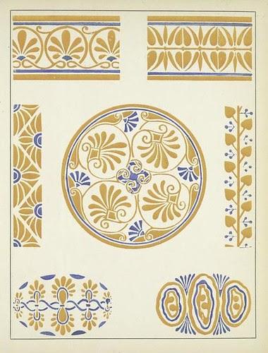 Art Deco Vignettes - Henri Gillet 1922 c