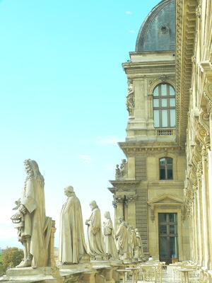 ルーブル美術館 Palais du Louvre)fromパリ