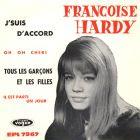 Le premier 45 tours de Françoise Hardy