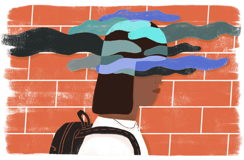 Middle school is a particularly stressful time for young adolescents.