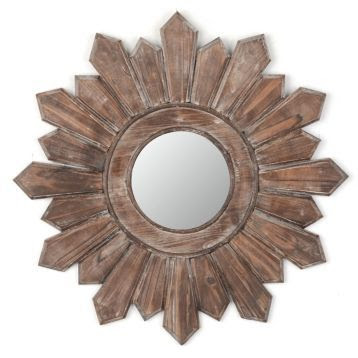 Poconos Wooden Wall Mirror | Kirkland's