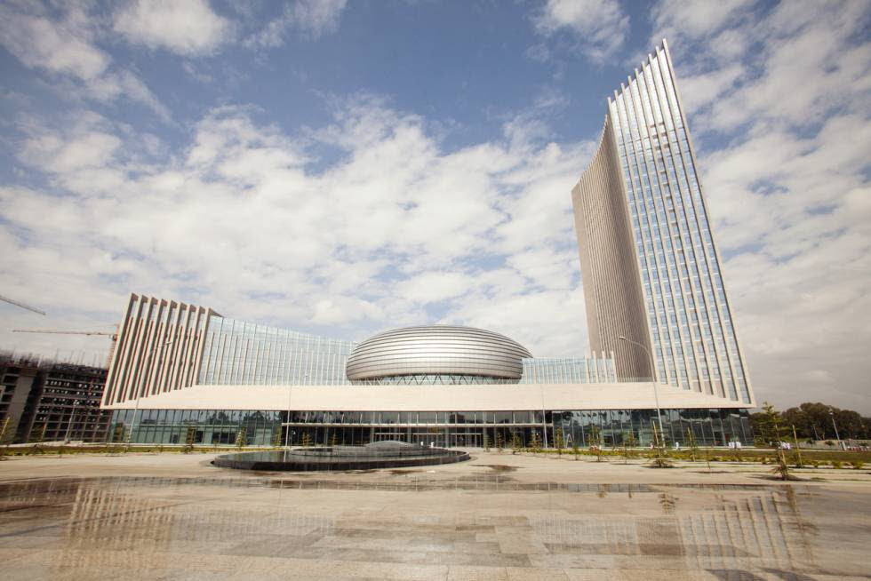 Sede de la Unión Africana en Addis Abeba.