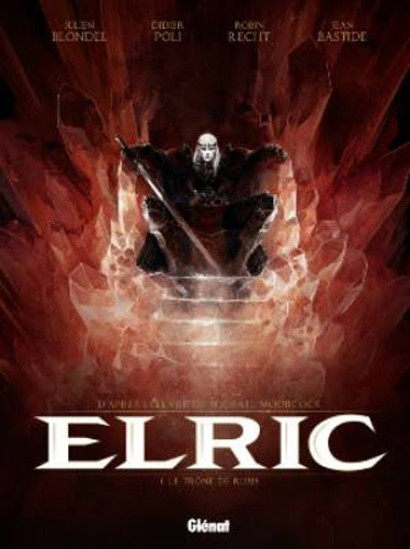Couverture Elric, tome 1 : Le trône de Rubis