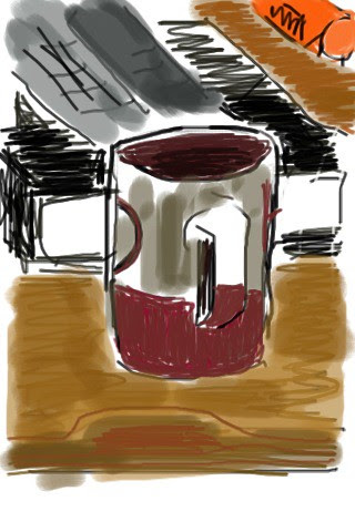 Cup and book