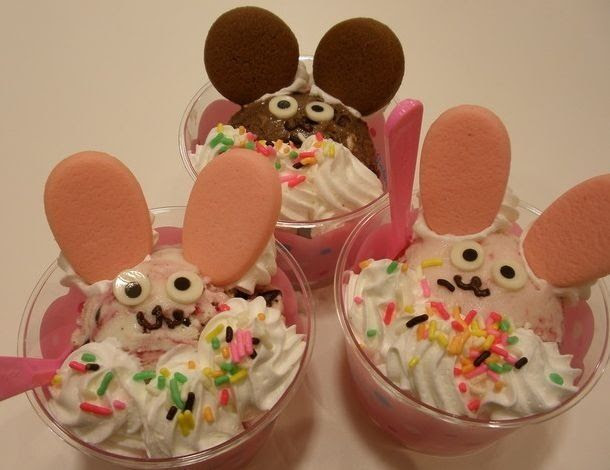 Mouse cup cakes