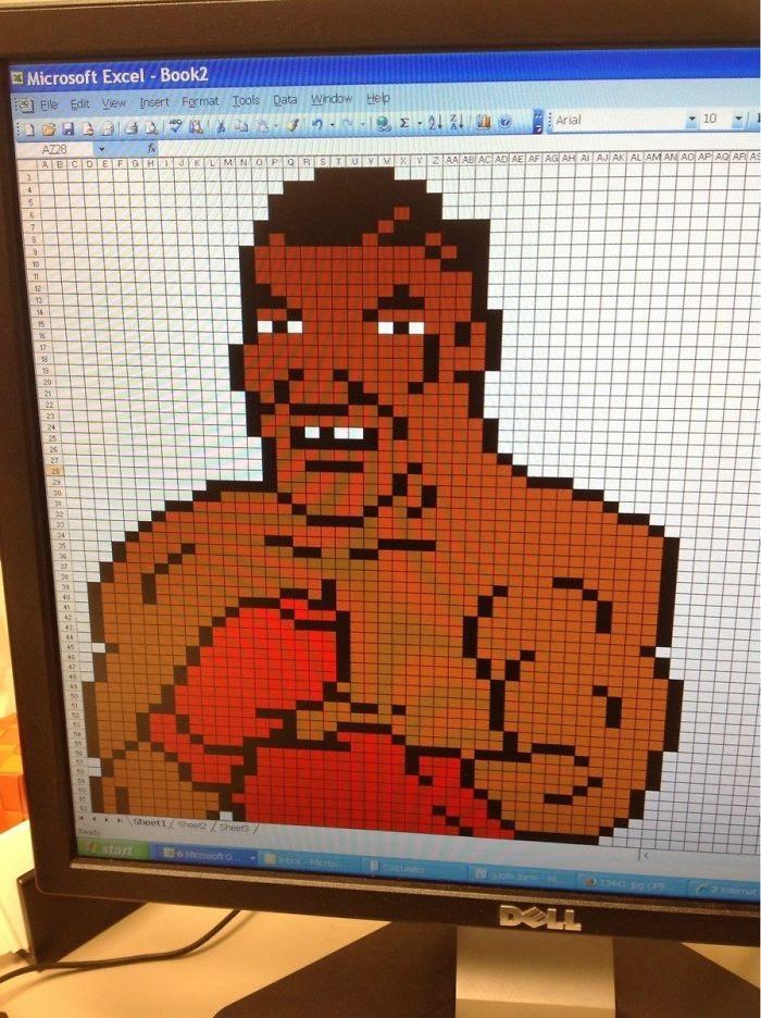 Mike Tyson en un excel