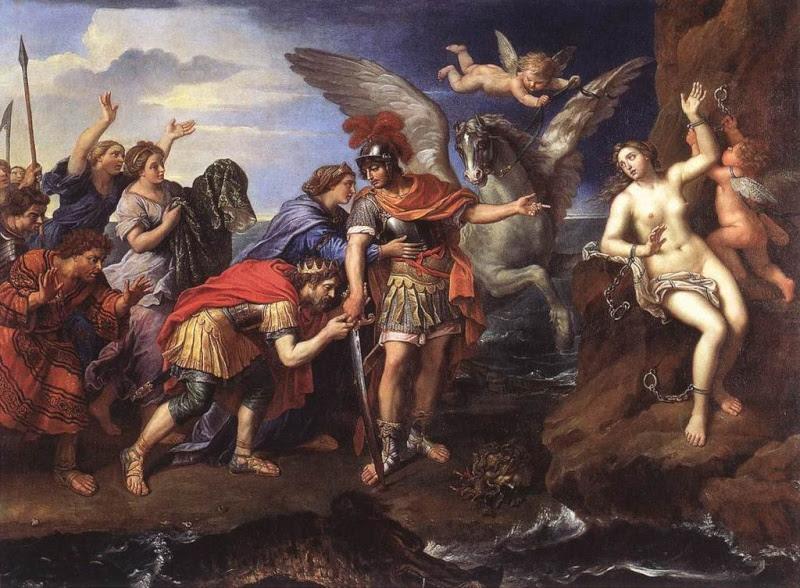 La délivrance d'Andromède Pierre Mignard
