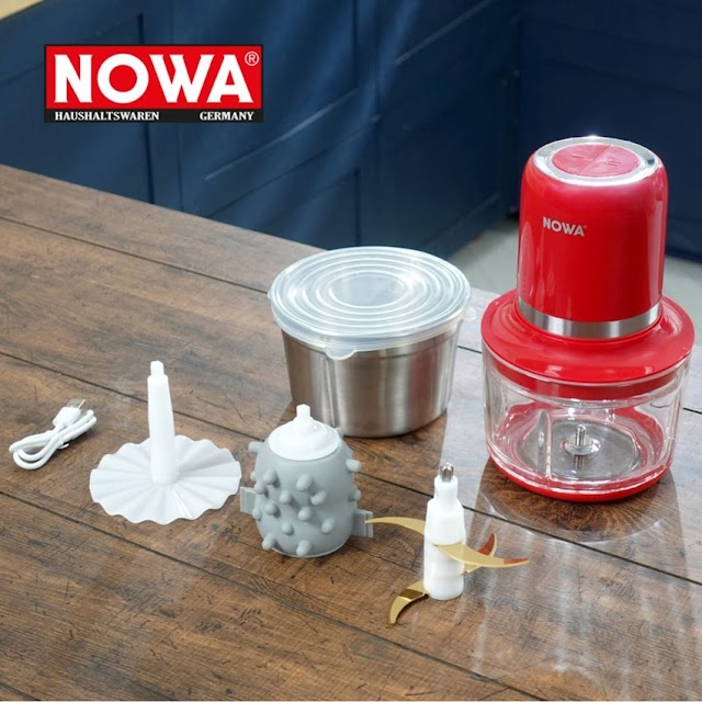 【德國 NOWA NWA-403 多功能無線攪拌機】快速切碎各種食材 新手入廚必備
