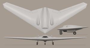 RQ-170 Sentinel impression 3-view.png