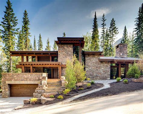 rugged mountain ski retreat   canadian rockies