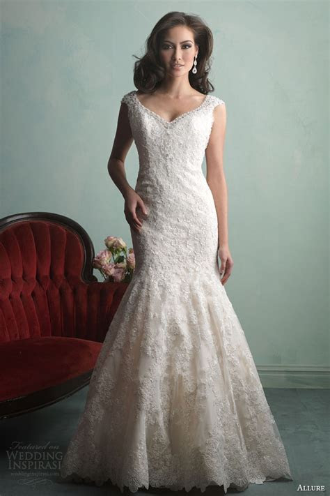 Allure Bridals Fall 2014 Wedding Dresses   Wedding