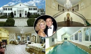 Donald Trump's first mansion from his life with Ivana now
