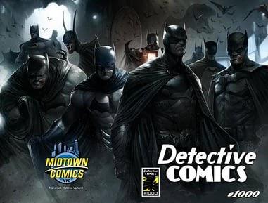 Francesco Mattina Detective Comics 1000