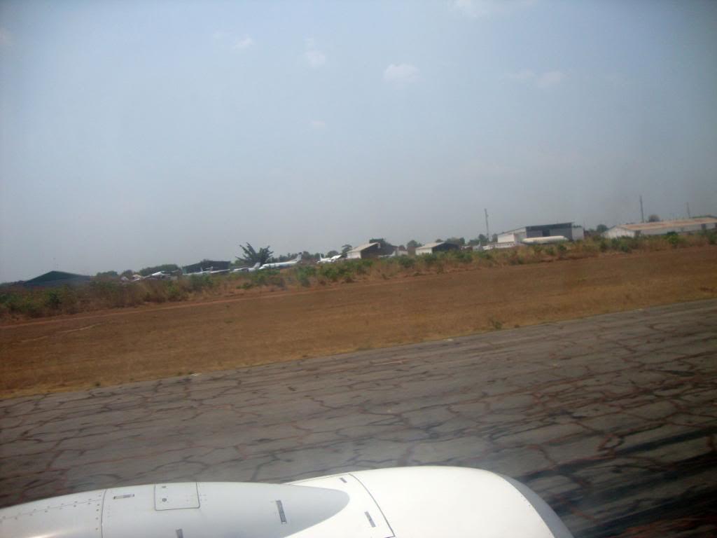 Takeoff from Lubumbashi