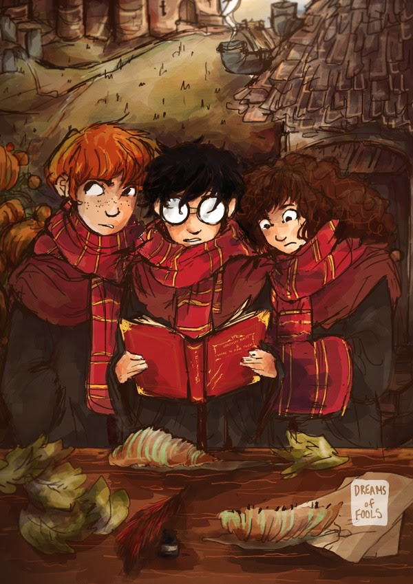 Harry Potter BlogHogwarts Animales Fantasticos y donde Encontrarlos Fanart 06