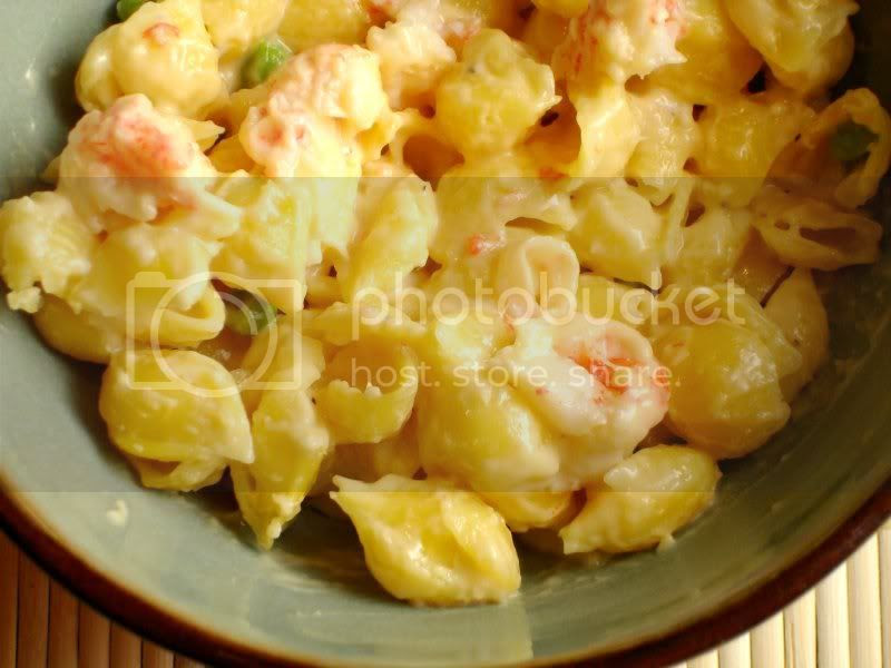 Quinoa Lobster Mac and Cheese
