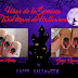 Uñas de la Semana: Twin Mani de Halloween con Gems, Beauty and Nails