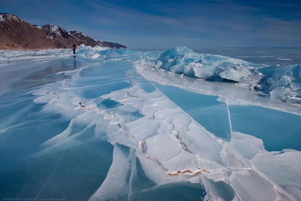 perierga.gr - Διαφορετικοί σχηματισμοί πάγου στη Βαϊκάλη!