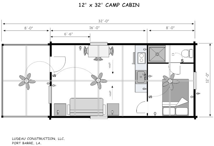 LOUISANA CABIN COMPANY PLANS AND PRICING