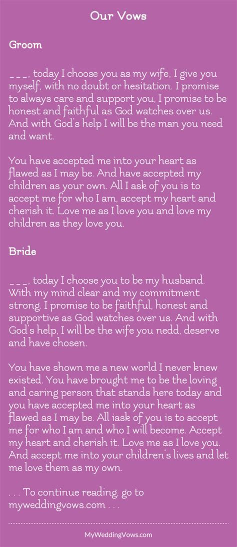 Our Vows in 2019   moms wedding   Wedding vows, Wedding