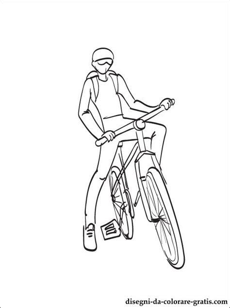 disegno bicicletta da colorare disegni da colorare gratis