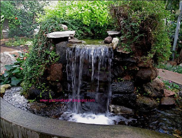 Feature Water Garden Waterfall