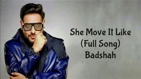 move   lyrics badshah  album songs