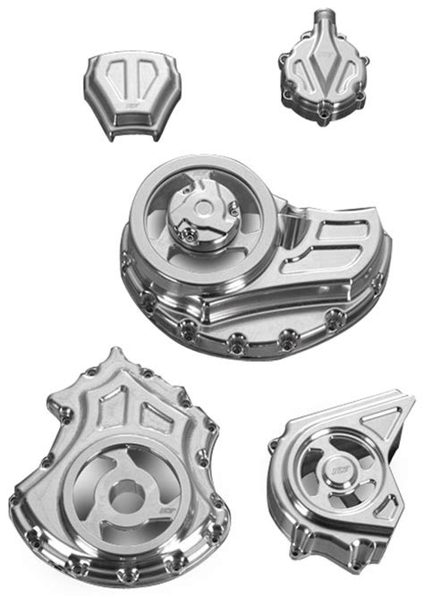 Cut-Out Engine and Transmission Covers for V-Rod Muscles