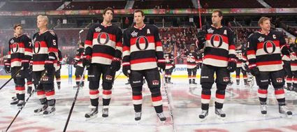Senators jersey unveiling