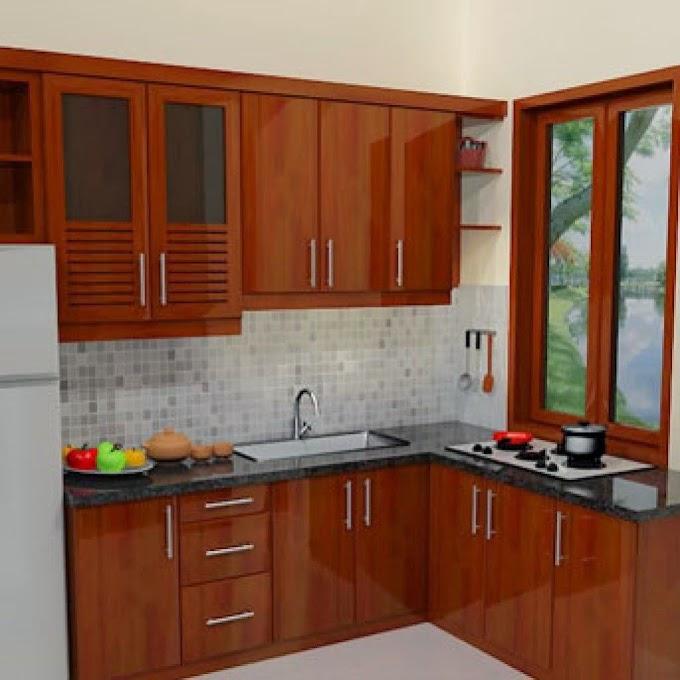 Ruang Dapur Minimalis Kayu | Ide Rumah Minimalis