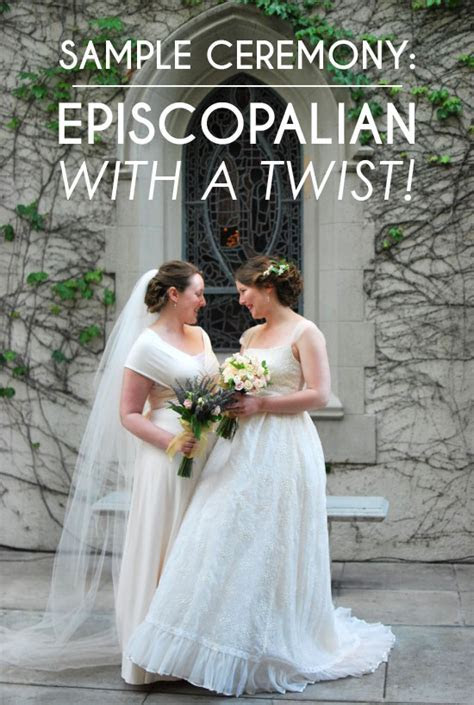 Sample Wedding Ceremony: Episcopalian With A Personal
