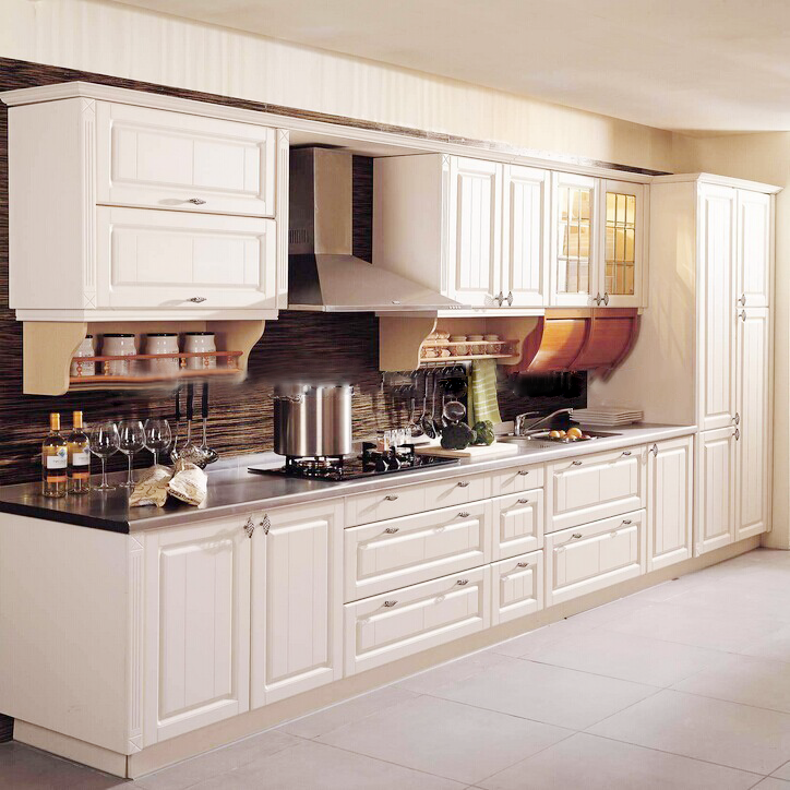 Custom Solid Wood White Kitchen Cabinets Price White Pine Kitchen Cabine View Custom Solid Wood Kitchen Cabinet Lingyin Product Details From Guangzhou Lingyin Construction Materials Ltd On Alibaba Com