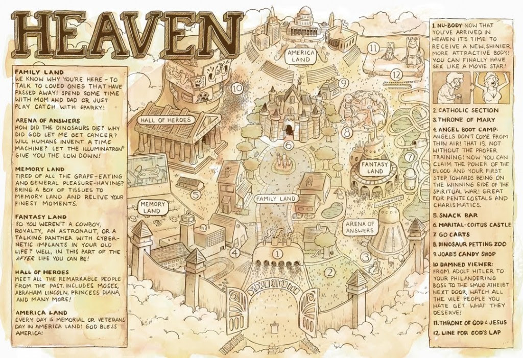 The 'map of heaven' drawn by Mthembu