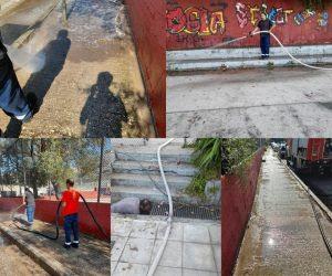 Θεσπρωτία: Ολοκληρώθηκαν οι εργασίες καθαριότητας και απολύμανσης στα γηπεδάκια επί της οδού Γράμμου
