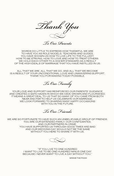 wedding ceremony programs   Monogram Wedding Ceremony